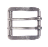 "1 1/2"" (38 mm) Double Prong Roller Solid Brass Belt Buckle"