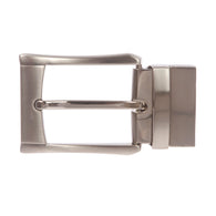 1 3/8 Inch (35 mm) Nickel Free Reversible Clamp Belt Buckle