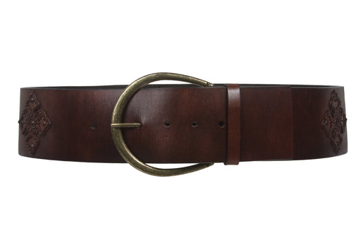 70mm Fashion Contour Leather Belt