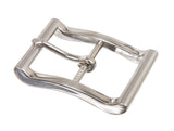 "1 1/4"" (33 mm) Single Prong Rectangular Center Bar Belt Buckle"