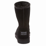NINO Women's Cowhide Faux Shearling Boot