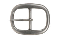 1 1/2 Inch Single Prong Oval Belt Buckle