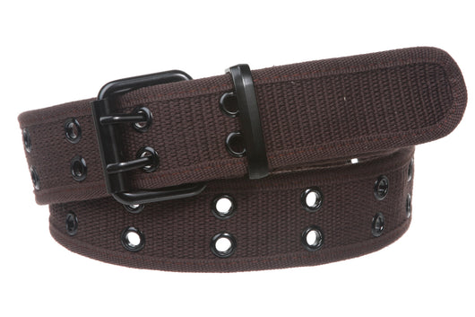 45b5a38f0bf Double Hole Grommets Canvas Web Belt – Beltiscool
