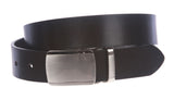 "1 1/4"" (34 mm) Clamp On Standard Plain Full Grain Leather Belt"