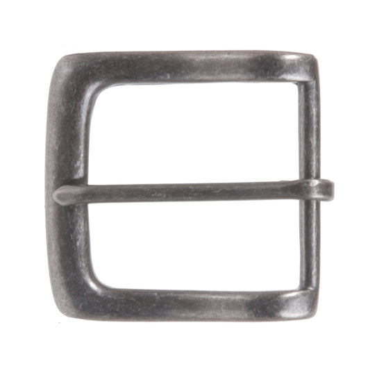 1 1/2 Inch Single Prong Square Nickel Free Belt Buckle