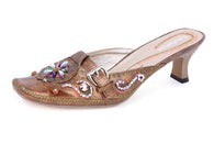 JOHN FASHION Embroidery Beads Sandal