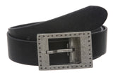 "1 1/2"" Clamp On Rectangular Single Prong Buckle with Free Belt Strap"