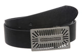 "1 1/2"" Clamp On Rectangular Perforated Buckle with Free Belt Strap"