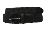 1 3/8'' Comfort Stretch Braided Horseshoe Non Leather Belt