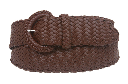 Ladies Braided Woven Belt