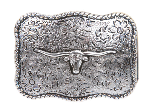 Western Cow Head Belt Buckle