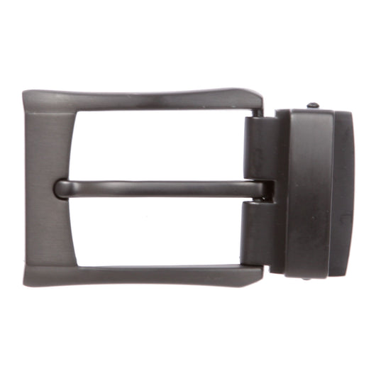 Gun Metal Nickel Free 1 1/4 Inch (34 mm) Clamp Belt Buckle