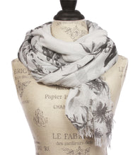 Womens Light Weight Wide Shawl Wrap cotton Scarf