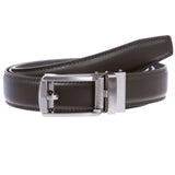 Men's Microfiber Adjustable Automatic Ratchet Slide Perfect Fit Belt