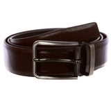 Men's One-Size-Fits-All Feather Edged Leather Dress Belt
