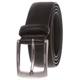 "Men's 1 1/4"" Feather Edged Leather Dress Belt"