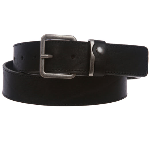 BELTISCOOL Men's Italian Leather Casual Jean Belt