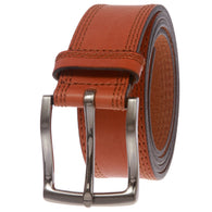 Men's Full Grain Italian Leather Casual Belt