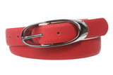"1 1/8"" Comfort Casual Fashion Print Faux Leather Belt"