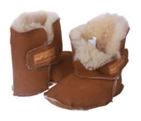 NINO Infants' Genuine Suede Shearling  Erin Boots