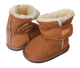 NINO Infants' Genuine Suede Shearling EVA outsole Boots
