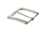1 1/4 Inch Single Prong Square Belt Buckle