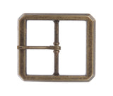 "1 1/2"" (38 mm) Single Prong Rectangular Belt Buckle"
