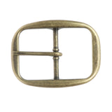 "1 1/4"" (32 mm) Single Prong Oval Belt Buckle"