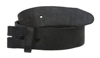 Snap On Soft Vintage Retro Pebble Print Genuine Leather Belt Strap