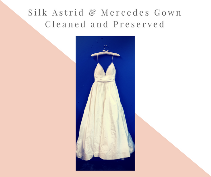 Silk Astrid & Mercedes Gown
