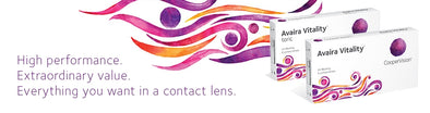 Avaira Vitality 2 Week Dispoasable Contact Lenses By Cooper Vision-6 Lens Pack