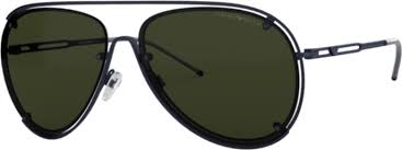 Emporio Armani EA 2073 Metal Sunglass For Men