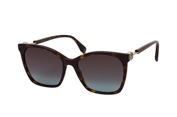 Fendi FF 0344/S Acetate Square Sunglass for Women