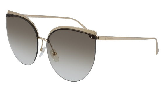 Salvatore Ferragamo SF 195S Metal Sunglass For Women