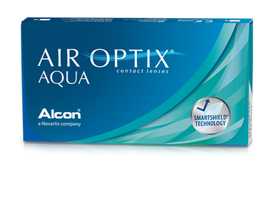 Air Optix Aqua  Monthly Contact lenses By Bausch & Lomb -6 Lens Pack
