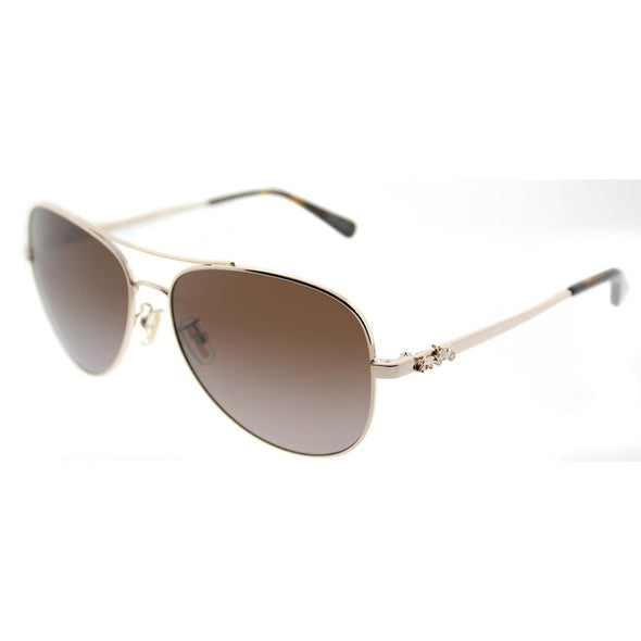 Coach HC 7074 Metal Sunglass  For Women