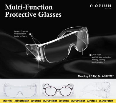 Opium Multi Function Safety Goggles