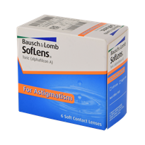 SofLens Toric  for Astigmatism Monthly Disposable Contact Lenses By Bausch & Lomb-6 lens pack