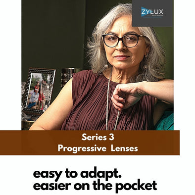 Zylux Series 3 Progressive Lenses with Anti Reflection coating