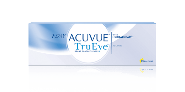 1 Day Acuvue TRUEYE  by Johnson & Johnson Daily Disposable Contact Lens- 30 lens pack