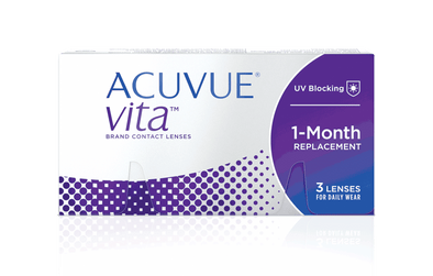 Acuvue VITA Monthly Uv blocking Contact Lenses - 6 Lens Pack