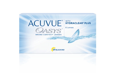 Acuvue Oasys with Hydraclear 2 week Disposable Lenses - 6 Lens Pack