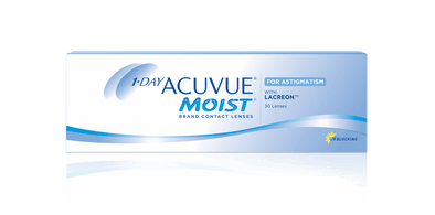 1 Day Acuvue Moist for Astigmatism Toric Soft Contact lenses- 30 Lens Pack