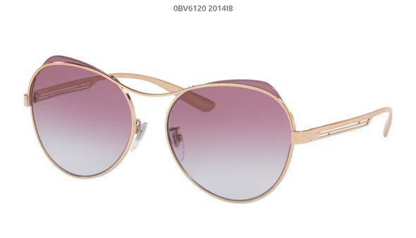 Bvlgari BV 6120 Metal Sunglass For Women
