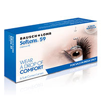 Sl-59  Monthly Contact lenses By Bausch & Lomb -6 Lens Pack
