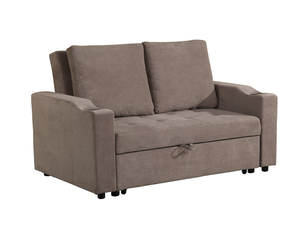 MiniMax Decor New Modern 2 In 1 Pullout Sofa Large