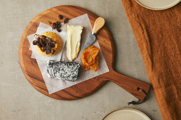 Large Cheese Board + 3 Cheeses