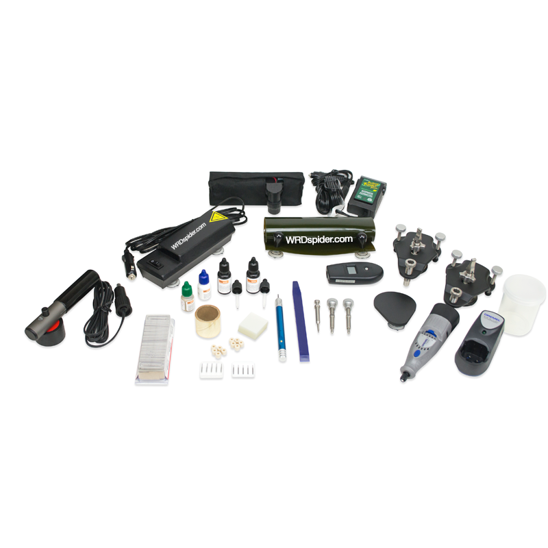 WRDspider Glass Chip Repair PRO kit