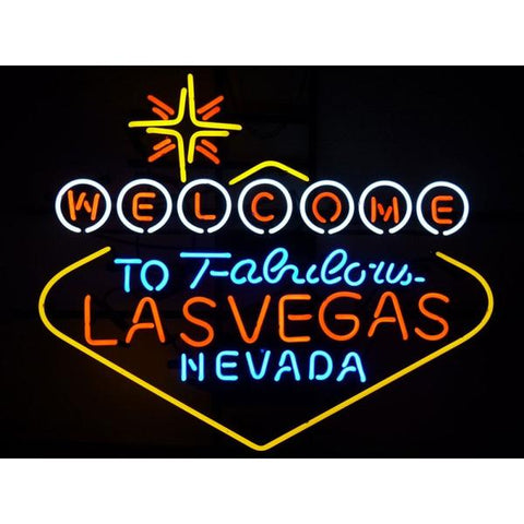Enseigne Néon - Welcome to Fabolous Las Vegas Nevada