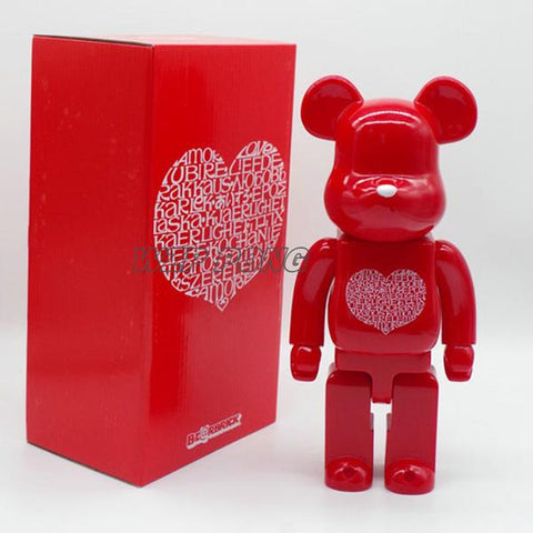 Figurine Bearbrick 400% International Love Heart